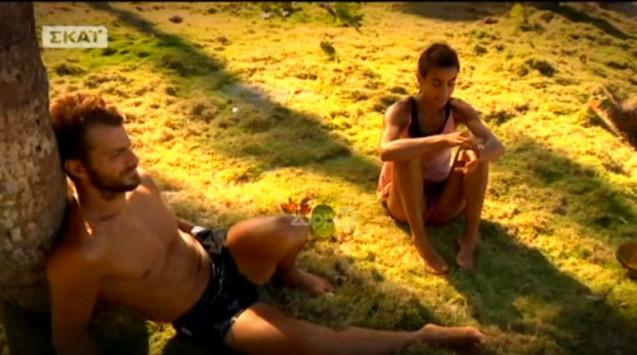 Survivor - Παπαδοπούλου και Αγγελόπουλος: 4 στιγμές που ήρθαν πιο κοντά [vid]