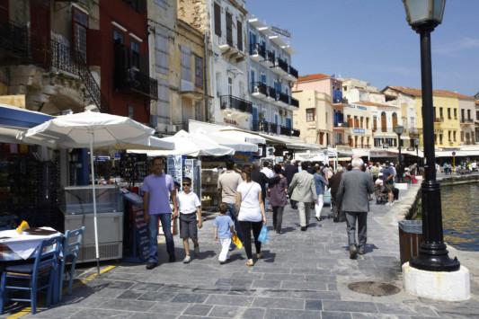 Κρήτη: `Απόβαση` επιβατών κρουαζιέρας στα Χανιά