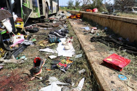 Συνεχίζεται η `θυσία` των αμάχων: Πάνω από 126 νεκροί από την χθεσινή επίθεση - Ανάμεσα τους 68 παιδιά