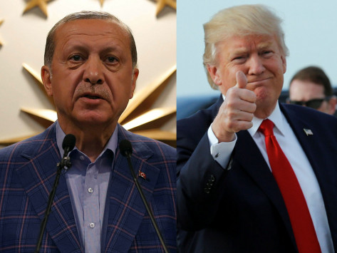 Τραμπ σε Ερντογάν: Μπράβο και… `ευχαριστώ`