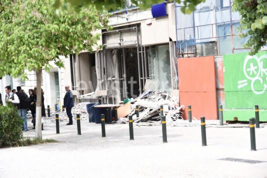 Έκρηξη βόμβας: Εικόνες – σοκ από την τράπεζα