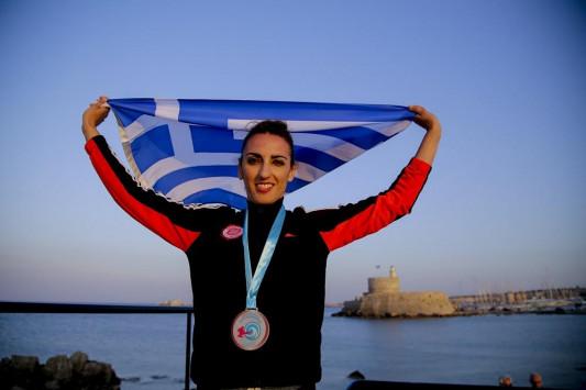 Πρώτο μετάλλιο για την Ελλάδα! Χάλκινο η Μαυρίκου στο Παγκόσμιο πρωτάθλημα Taekwondo Beach