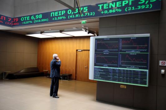Στο 63,9% αυξήθηκε η συμμετοχή των ξένων επενδυτών στο Χρηματιστήριο Αθηνών τον Απρίλιο