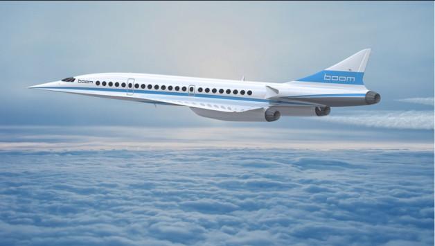 Έρχεται το υπερηχητικό επιβατικό αεροπλάνο Boom! Πιο γρήγορο από Κονκόρντ!