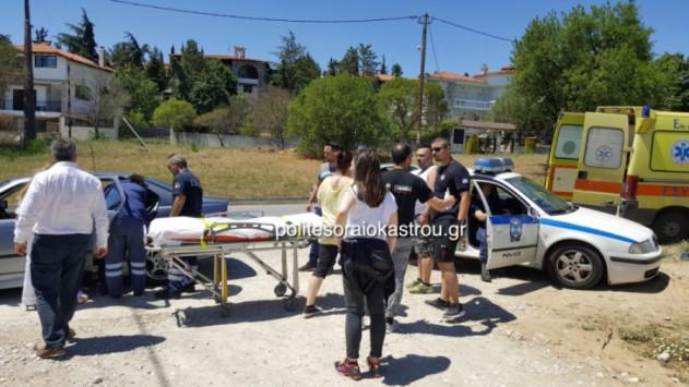 Θεσσαλονίκη: Τροχαίο στο Ωραιόκαστρο με τραυματισμό γυναίκας - Αυτοκίνητο ''έφυγε'' σε χωράφι [vids]