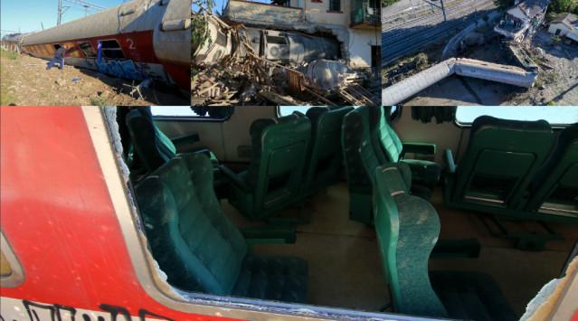 Θεσσαλονίκη: Εκτροχιασμός τρένου με 3 νεκρούς και 7 τραυματίες - Λύνεται το μυστήριο για τα αίτια της τραγωδίας [pics, vids]