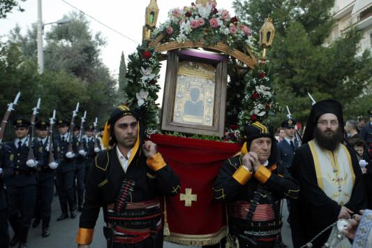 Για 7 ημέρες στον Πειραιά η Ιερή Εικόνα της Παναγίας Σουμελά