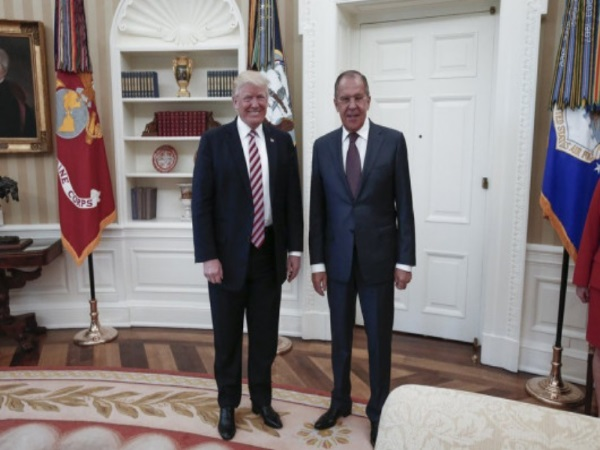 Ντόναλντ Τραμπ και Σεργέι Λαβρόφ