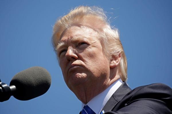 Ο Αμερικανός Πρόεδρος, Ντόναλντ Τραμπ