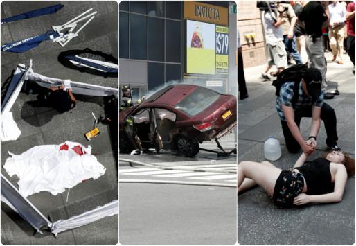 Νέα Υόρκη: Σοκάρουν οι εικόνες από το μακελειό! Μία νεκρή, 20 τραυματίες [vids, pics]