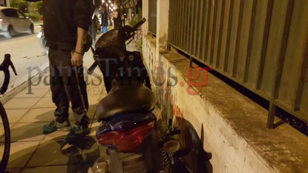 Πάτρα: Τρακάρισμα μηχανής με ποδήλατο - Δύο τραυματίες