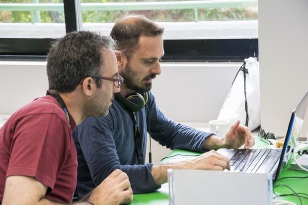 Η ομάδα Kiiim στο workstation