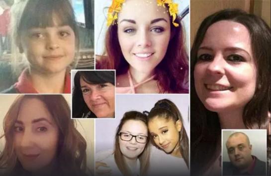 Μάντστεστερ: Τα πρόσωπα της τραγωδίας – Αναγνωρίστηκαν 13 από τα θύματα [pics]
