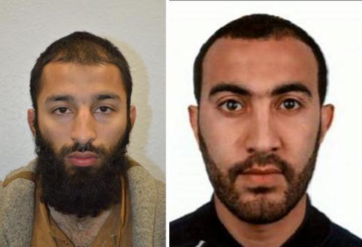 Λονδίνο: Αυτοί είναι οι δράστες της επίθεσης στη London Bridge