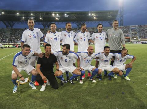 Forever... θρύλοι! Ποδοσφαιρική γιορτή στο Παγκρήτιο με την εθνική 2004 [pics]