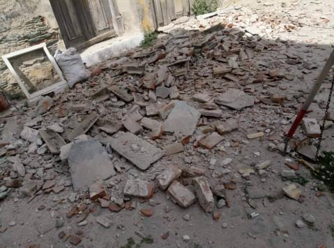 Σεισμός 6,1 Ρίχτερ στη Μυτιλήνη - Μεγάλες ζημιές σε Πλωμάρι - Πληροφορίες για μια εγκλωβισμένη