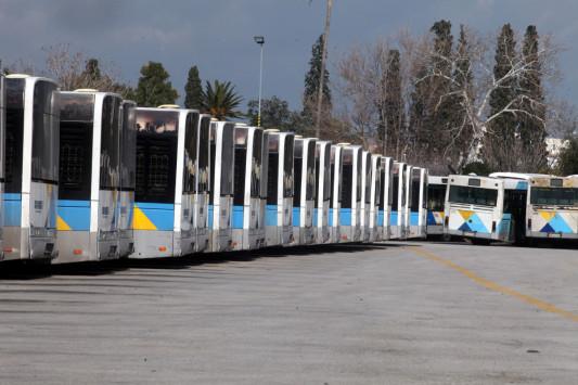 Χωρίς λεωφορεία και τρόλεϊ για έξι ώρες