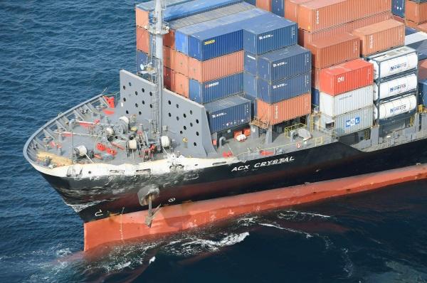Το ACX Crystal, πλοίο μεταφοράς εμπορευματοκιβωτίων
