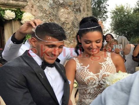 Το γκολ της ζωής του! Παντρεύτηκε ο Νίκος Καρέλης! [pics]