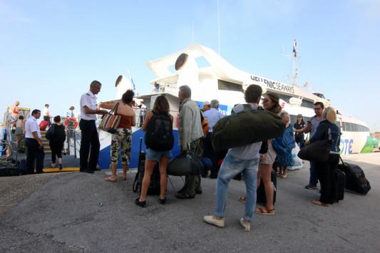 Σκιάθος: Περιπέτεια στις διακοπές - Καθηλωμένοι τουρίστες με προορισμό τη Σκόπελο και την Αλόννησο!