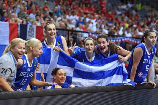Ελλάδα - Γαλλία: Ποιο κανάλι θα μεταδώσει τον ιστορικό ημιτελικό του Ευρωμπάσκετ Γυναικών