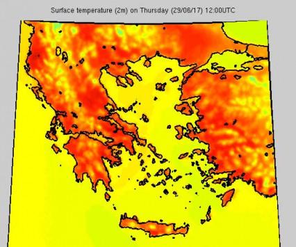 Καιρός - καύσωνας: Σπάνιο φαινόμενο για Ιούνιο - Προσοχή! Αυτές είναι οι πιο επικίνδυνες ημέρες!