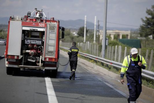 Αυτοκίνητο τυλίχθηκε στις φλόγες, κοντά στην Κακιά Σκάλα! Ένας νεκρός