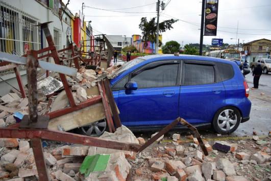 Ισημερινός: Αναστάτωση από σεισμό 6 Ρίχτερ - Πέντε τραυματίες