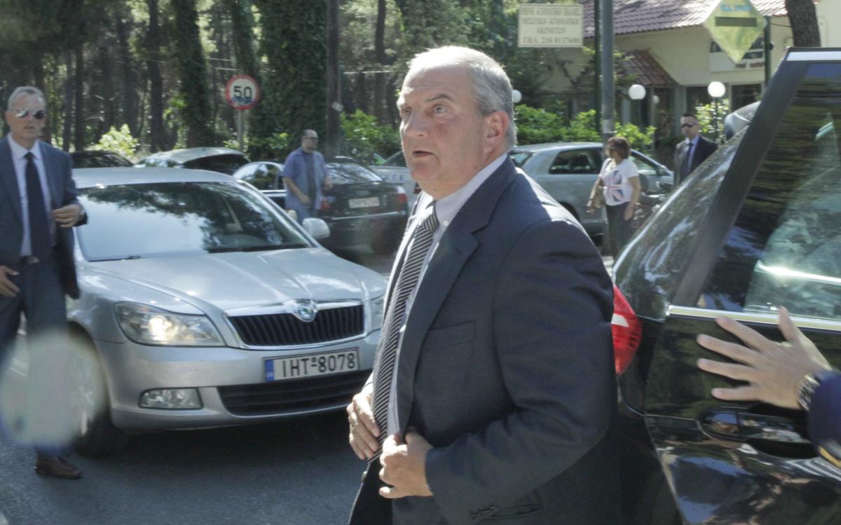 Ο πρώην πρωθυπουργός, Κώστας Καραμανλής / Φωτογραφία: Eurokinissi