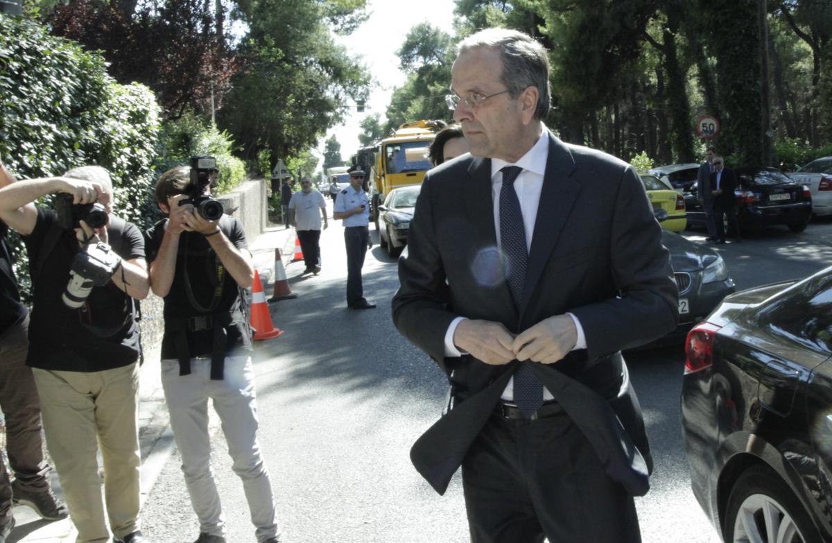 Ο πρώην πρωθυπουργός, Αντώνης Σαμαράς / Φωτογραφία: Eurokinissi