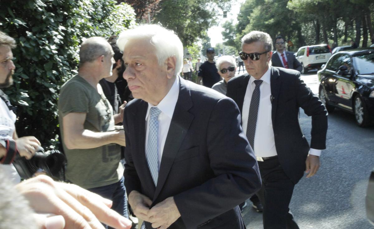 Ο πρόεδρος της Δημοκρατίας, Προκόπης Παυλόπουλος / Φωτογραφία: Eurokinissi