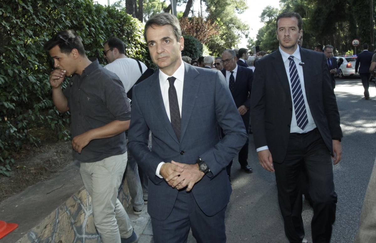 Ο αρχηγός της ΝΔ, Κυριάκος Μητσοτάκης / Φωτογραφία: Eurokinissi