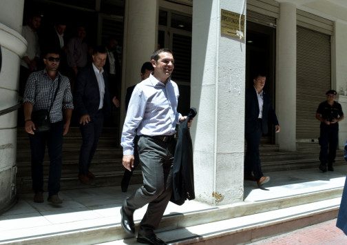 Στο νοσοκομείο ο πρωθυπουργός Αλέξης Τσίπρας