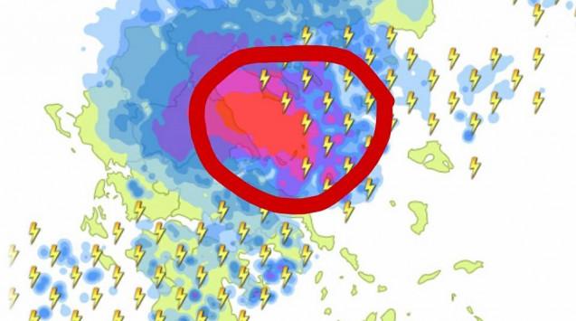 Καιρός: ''Σφυροκόπημα'' με εκατοντάδες κεραυνούς – Ποιες περιοχές θα ''πνιγούν'' απ' τις βροχές