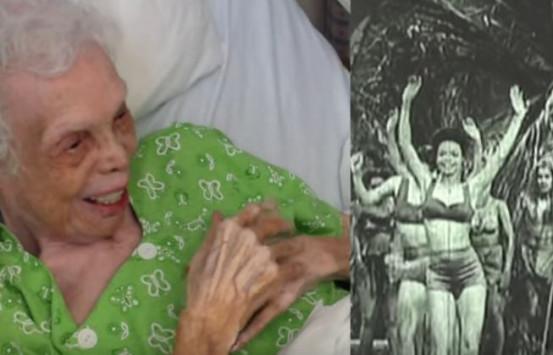 Είναι 102 χρονών και βλέπει τον εαυτό της μικρή να χορεύει [vid]