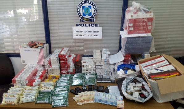 Έβρος: Αλλεπάλληλες συλλήψεις για λαθραίο καπνό και αφορολόγητα τσιγάρα!