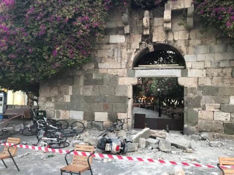 Σεισμός στην Κω: Πρωινό οδοιπορικό 12 λεπτών στο νησί - Φοβερές εικόνες