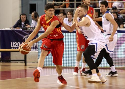 Ευρωμπάσκετ Νέων Ανδρών: Διαστημική Ελλάδα! Διέλυσε την Ισπανία και προκρίθηκε στον τελικό!