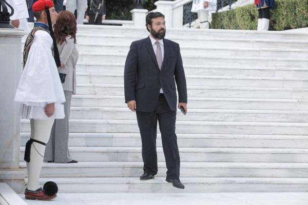 Ο υφυπουργός Αθλητισμού, Γιώργος Βασιλειάδης