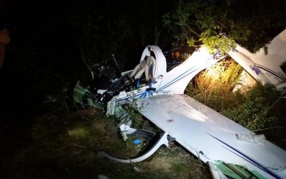 Πτώση αεροπλάνου στη Λάρισα: Τραγωδία με δύο νεκρούς