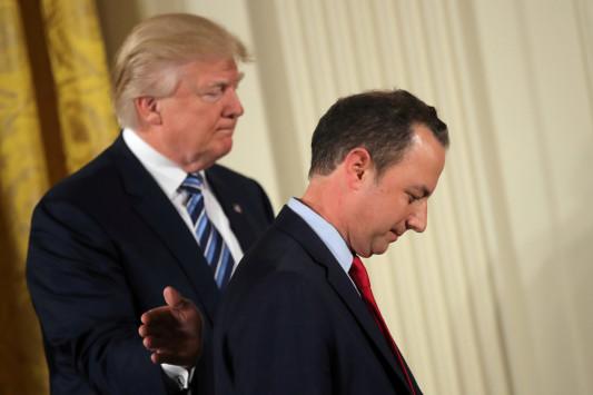 Ο Τραμπ `καθάρισε` τον ελληνοαμερικάνο προσωπάρχη του Λευκού Οίκου! [pics]