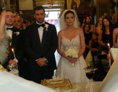 Άργος: Πανέμορφη νύφη η Ελεάννα Λιβαδείτη - Οι εικόνες του γάμου της με τον Τάκη Ανδριανάκο [pics]