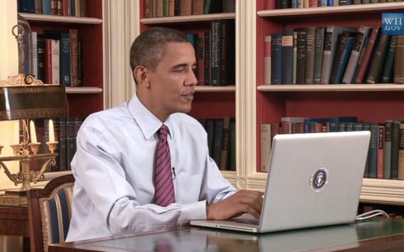 Ο Ομπάμα βλέπει τσόντες στο laptop;