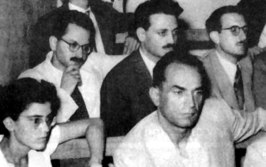 1949: Στο στρατοδικείο με τον Μ. Γλέζο