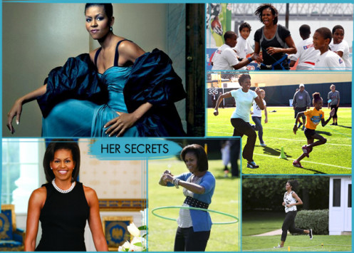 Michelle Obama! Fitness tips από τα άδυτα του Λευκού Οίκου...