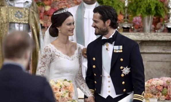 To σέξι μοντέλο που έγινε πριγκίπισσα της Σουηδίας! Φωτογραφίες από τον βασιλικό γάμο