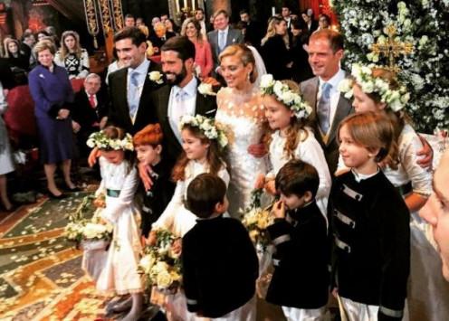 Ο εγγονός του τέως βασιλιά Κωνσταντίνου, ήταν παράνυμφος στο γάμο της Μαριάννας Γουλανδρή! [pics]