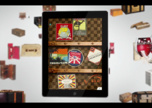 H Louis Vuitton παρουσιάζει το i-Pad Application!