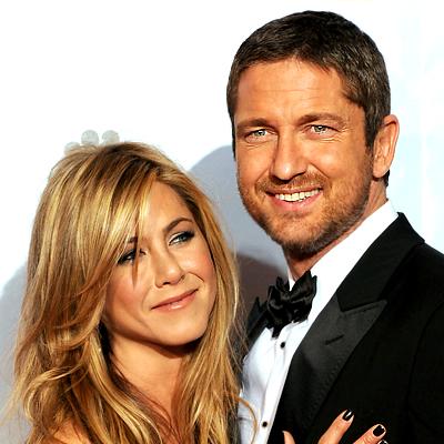 Η Jennifer Aniston και ο Gerard Butler από... μπροστά!
