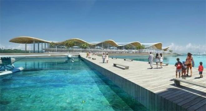 Το πρώτο αεροδρόμιο πάνω στο νερό είναι γεγονός